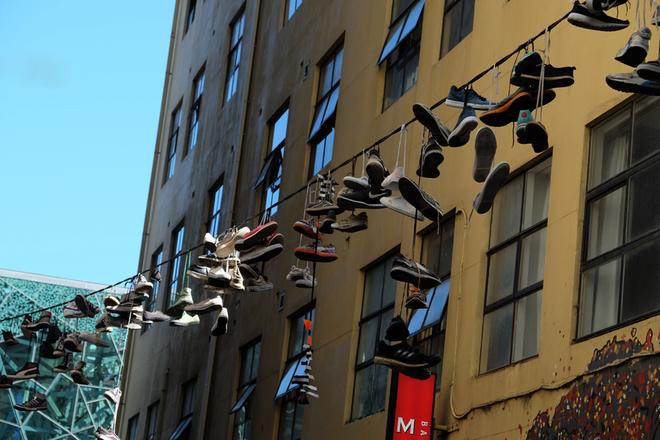 Những con ngõ liên tục biến hình ở Melbourne