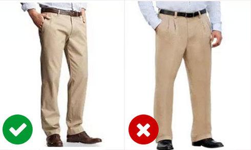 10 sai lầm đàn ông hay mắc khi chọn quần áo