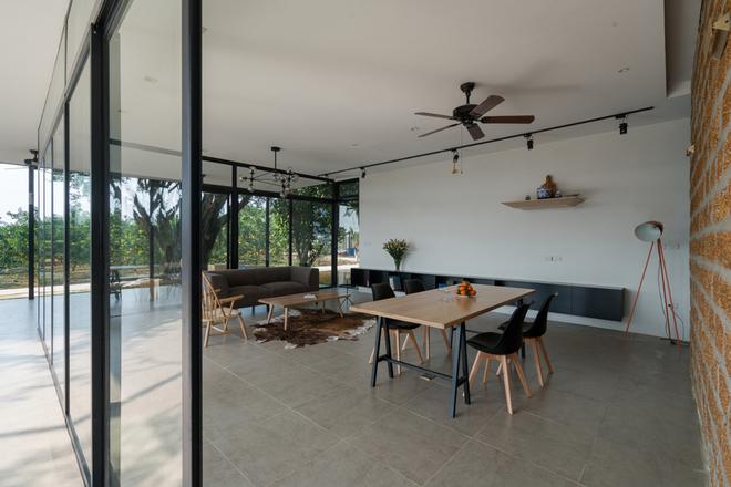 Ngôi nhà trong suốt ẩn mình giữa vườn bưởi Hà Nội