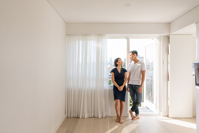 Căn hộ 24 m² rộng khó tin của cặp vợ chồng trẻ