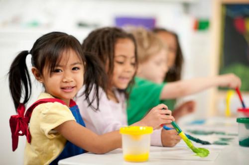 Lợi ích của việc trẻ hay ốm khi đi học mầm non