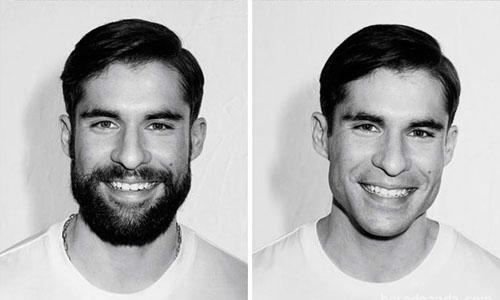 Đàn ông thay đổi diện mạo không ngờ khi cạo râu