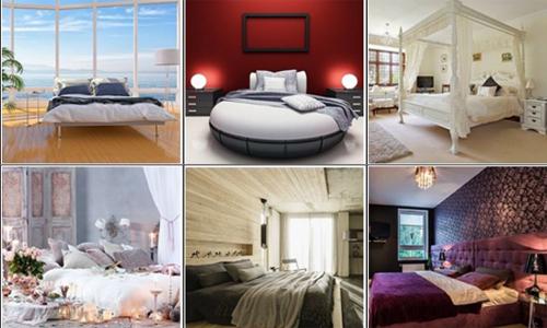 Chọn kiểu phòng ngủ biết bạn hấp dẫn người khác ở điểm gì