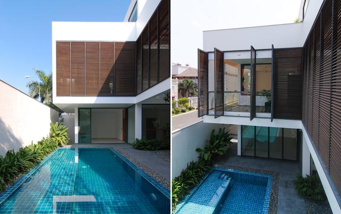 Resort thu nhỏ trong biệt thự Sài Gòn có bề ngoài giản dị
