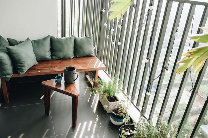 Căn hộ Sài Gòn tông màu khác lạ được chủ nhà chọn từng viên gạch