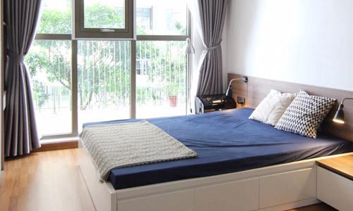 Gia đình Hà Nội sửa căn hộ 60 m2 hết 260 triệu