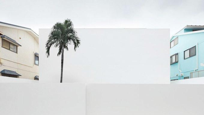 Ngôi nhà trắng không tỳ vết ở Nhật