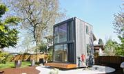 Ngôi nhà 2 tầng có thể xoay theo hướng mặt trời