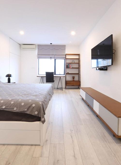 300 triệu cải tạo căn hộ Hà Nội bí bức thành rộng thoáng không ngờ