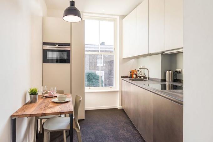 Căn hộ 35 m2 vẫn rộng thoải mái cho nhà 4 người
