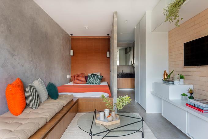 Căn hộ 27 m2 vừa đủ cho gia đình nhỏ