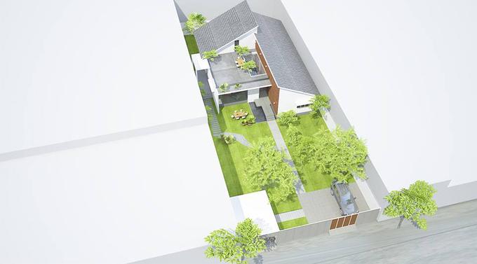 Ngôi nhà một tầng ở Đồng Tháp khiến người thành phố mơ ước