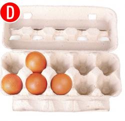 Biết chính xác thế mạnh của bạn qua cách xếp trứng