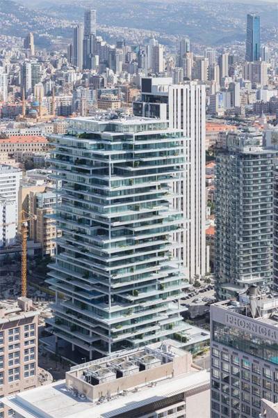 Tòa cao ốc ở Beirut (Li Băng) do công ty Herzog & de Meuron thiết kế