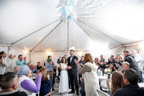 Đám cưới thực sự y như tôi mơ ước. Tôi không thể hình dung được có cáchnào hoàn hảo hơn, cô dâu thổ lộ.
