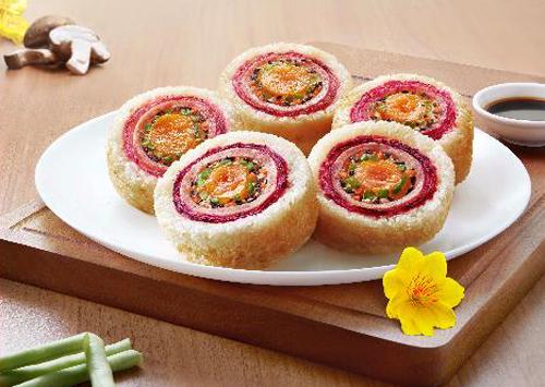 Món ăn với màu sắc bắt mắt chi em có thể chuẩn bị trong dịp Tết.