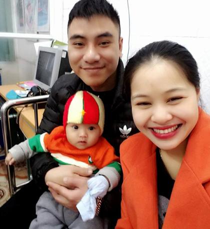 Tổ ấm hạnh phúc nhà anh chị Kiều Anh.