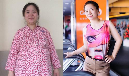 Huyền Thanh hồi gần 100 kg và khi bước ra khỏi chương trình, giảm được 23 kg trong 3 tháng.