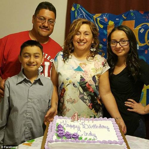 Gia đình anh Garciathuở còn được hạnh phúc cùng nhau.