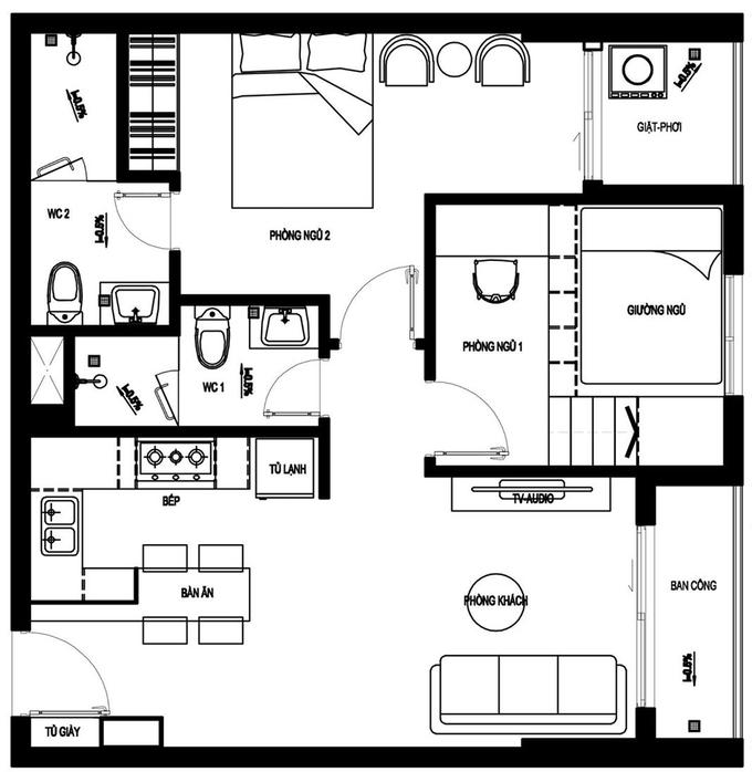 Thiết kế căn nhà kiểu Nhật Bản