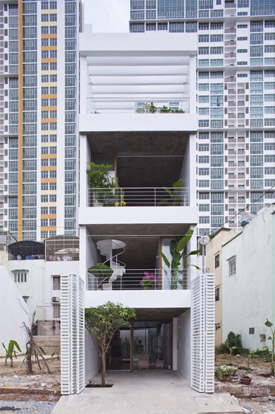 Những ngôi nhà vừa lạ vừa quen của KTS Nhật ở Việt Nam - 3