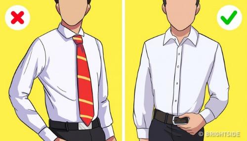 Những quy tắc mặc đồ lúc nào cũng sang trọng - 10