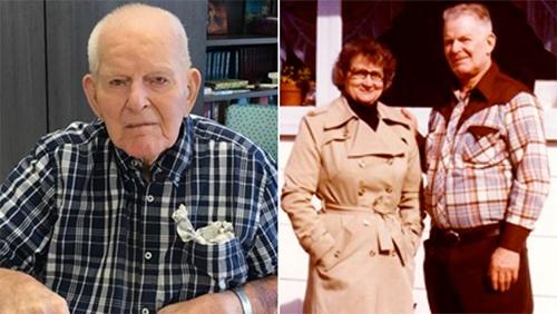 Ông Esmond và vợ đã có hàng chục năm sống hạnh phúc.