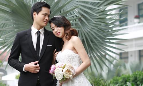 Không như đa số các đôi yêu nhau, Cường và Hà Mi hiếm khi chia sẻ chuyện tình cảm của mình lên mạng xã hội. Ảnh: NVCC.
