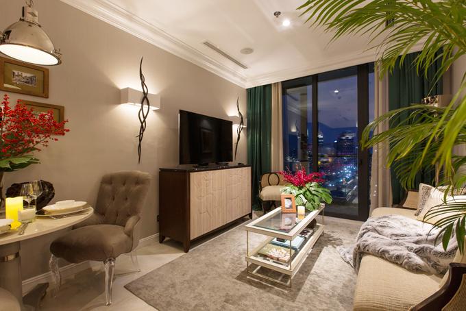 Gia chủ Sài Gòn bỏ biệt thự 700 m2 về ở căn hộ 43 m2