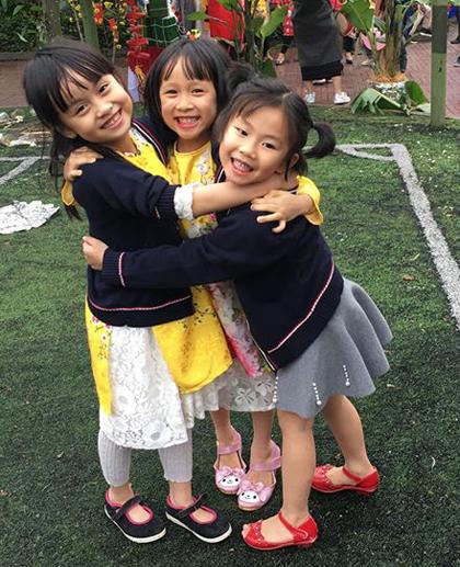 Dạy trẻ biết tự vệ, nhưng phải là tự vệ đúng khi bị bạn đánh sẽ giúp trẻ nuôi dưỡng sự tự tin, tự lập, hòa bình. Ảnh: NVCC.