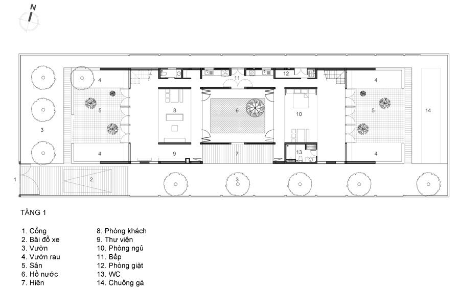 gach 13 1520998620 680x0 - Cuộc sống thư giãn trong ngôi nhà 'thủng mái' ở Long An