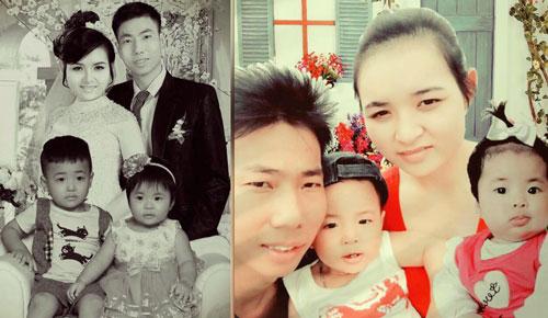 Biết tin có bầu khi chồng mất, cô vợ trẻ gắng gượng nuôi 2 con