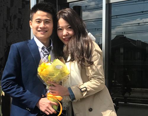 Sự khác biệt văn hoá của Nhật và Việt Nam là một chất xúc tác để Huy Kỳ và Haruka đến với nhau. Ảnh:NVCC.