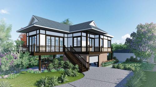 Các gia đình mua đất rộng nhưng không thể xây nhà