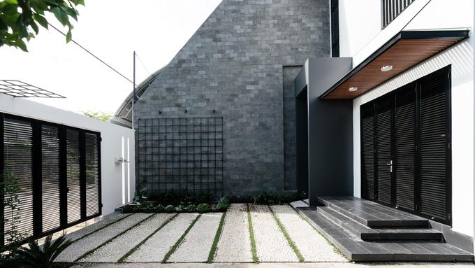 Ngôi nhà hiện đại nổi bật giữa vùng quê Đồng Nai