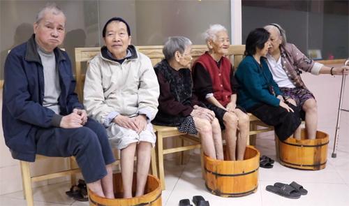 Viện dưỡng lão tư nhân phát triển nhanh trong thời gian gần đây ở các đô thị lớn. Ảnh:Diên Hồng.
