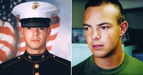 Matthew từng là một chàng lính Mỹ điển trai.