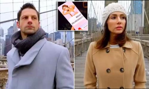 Eric và Lauren trong chương trình truyền hình thực tế Nối lại tình xưa. Ảnh: Nowtolove.