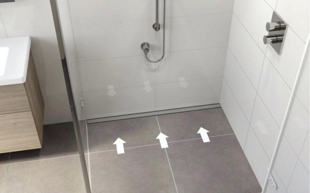 Chúng có thiết kế mảnh và màu sắc hài hòa với tổng thể chung của nhà tắm.