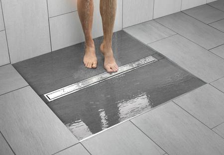 Kiểu rãnh này cũng giúp sàn nhà thoát nước nhanh chóng hơn.