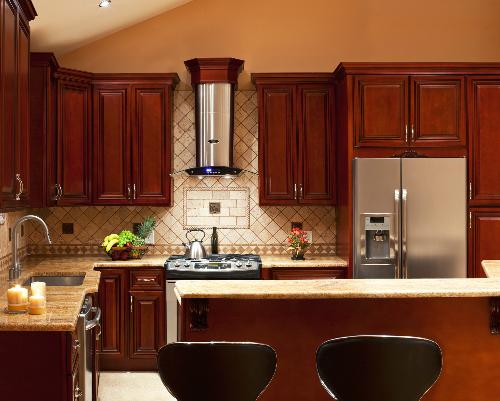 Một chiếc tủ bếp có thể hợp với ngôi nhà này nhưng không hợp với ngôi nhà khác - Ảnh:votejohnq.com.