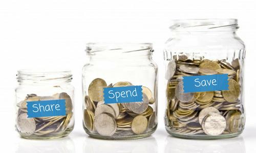 4 cách dạy con dùng tiền