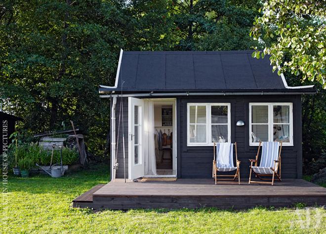 Nhà cấp bốn 25 m2 cho gia đình 4 người