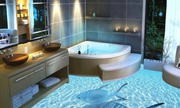Sàn nhà tắm khiến mọi người giật mình tưởng như giữa biển khơi
