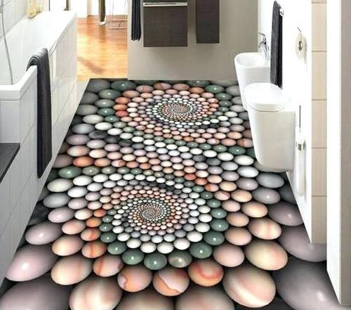Sàn nhà 3D tạo điểm nhấn ấn tượng có thể sử dụng trong mọi không gian. Tuy nhiên, đa số các hộ gia đình chỉ sử dụng trong các không gian phạm vi hẹp.
