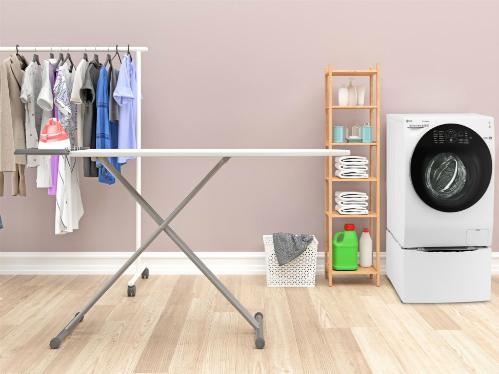 9 ý tưởng bài trí khiến phái đẹp mê bước chân vào phòng giặt - 7