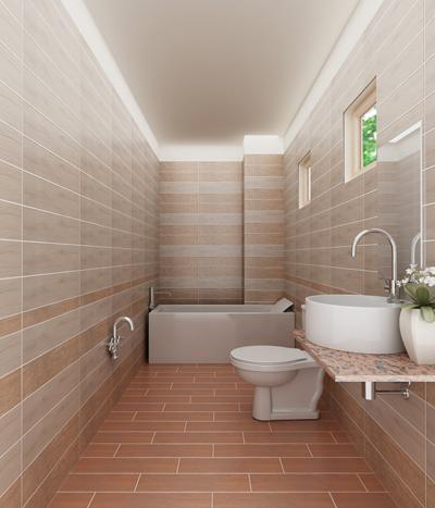 Là nơi chịu sự tác động của nước, gạch lát sàn nhà tắm phải đảm bảo an toàn về sức khỏe. Tốt nhất nên sử dụng gạch lát nền có độ nhám để chống trơn trượt.