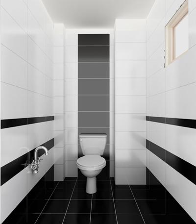 Không như trước, đa phần nhà vệ sinh mang phong cách hiện đại có xu hướng sơn màu đơn sắc. Việc tối giản màu sắc mang lại hiệu quả tuyệt vời. Các gam màu đối lập như đen - trắng, nâu - trắng...cũng mang đếu hiệu quả trong phòng tắm.