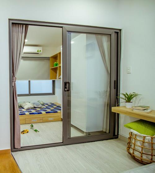 Ngôi nhà 2 tầng không có phòng khách ở Sài Gòn