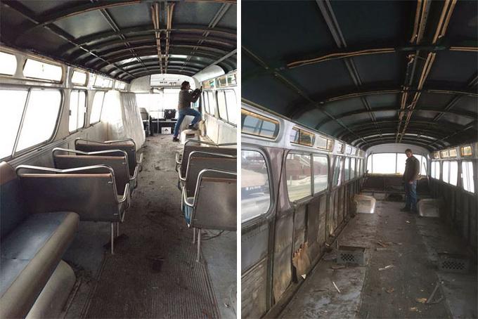 Cô gái bỏ nhà ở thành phố để sống trên xe bus suốt 3 năm
